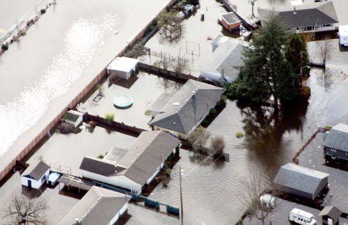 Duncan flooded