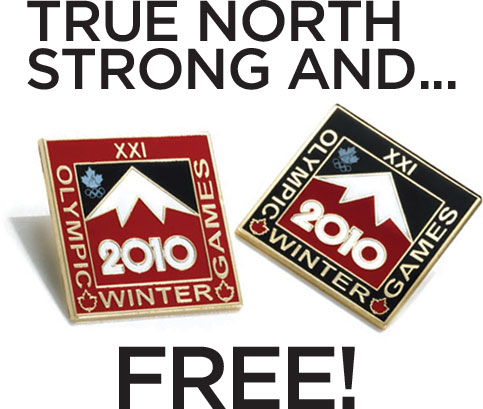 HBC pin free with $75 purchase