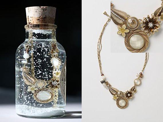 Anthropologie Pessinus Garden Necklace