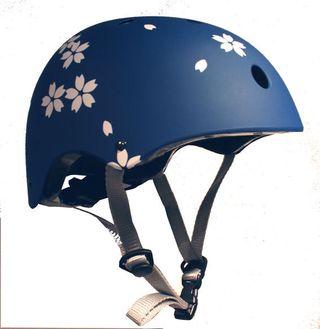 Helmet sakura blue