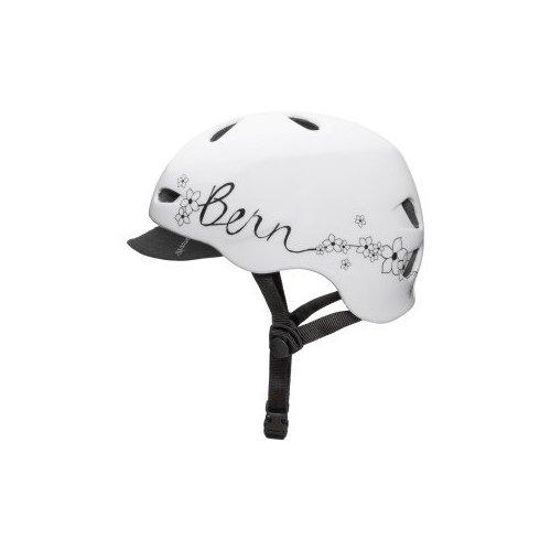 Helmet bern flower