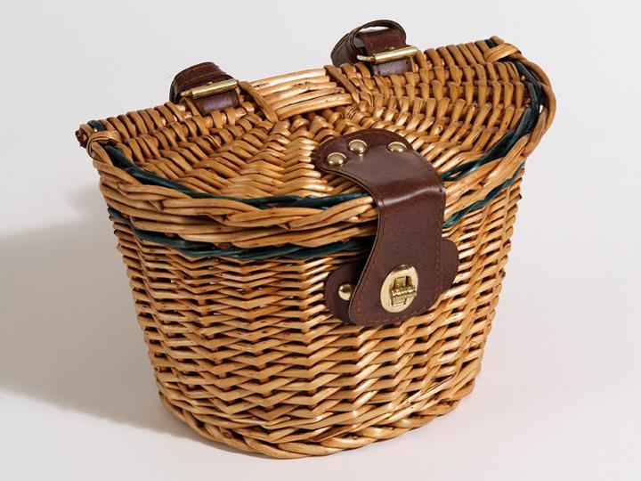 Basket lidded