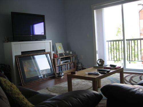 Living room from dining room