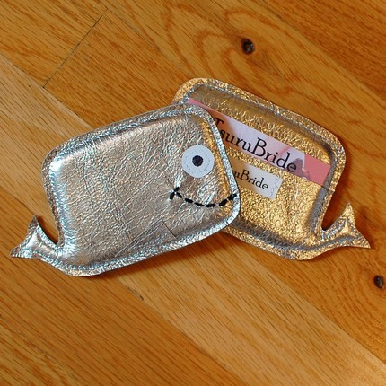 Whale Cardholder