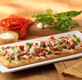 Olive Garden Grillen Chicken Flatbread