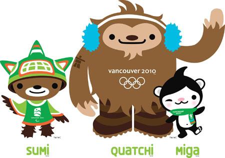 Vancouver 2010 mascots