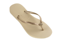 Havaianas Crystal Flower Gold