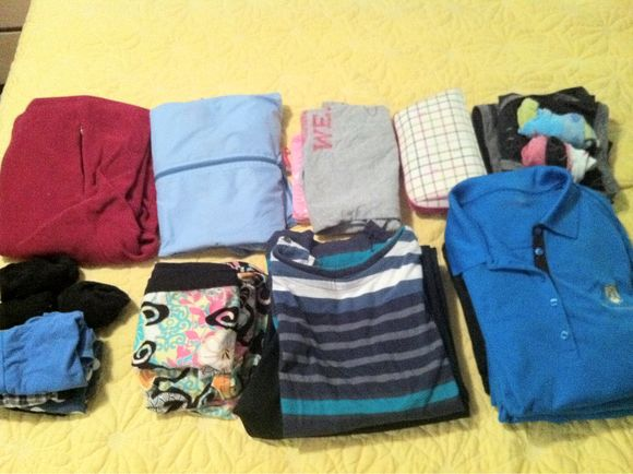 What I Pack