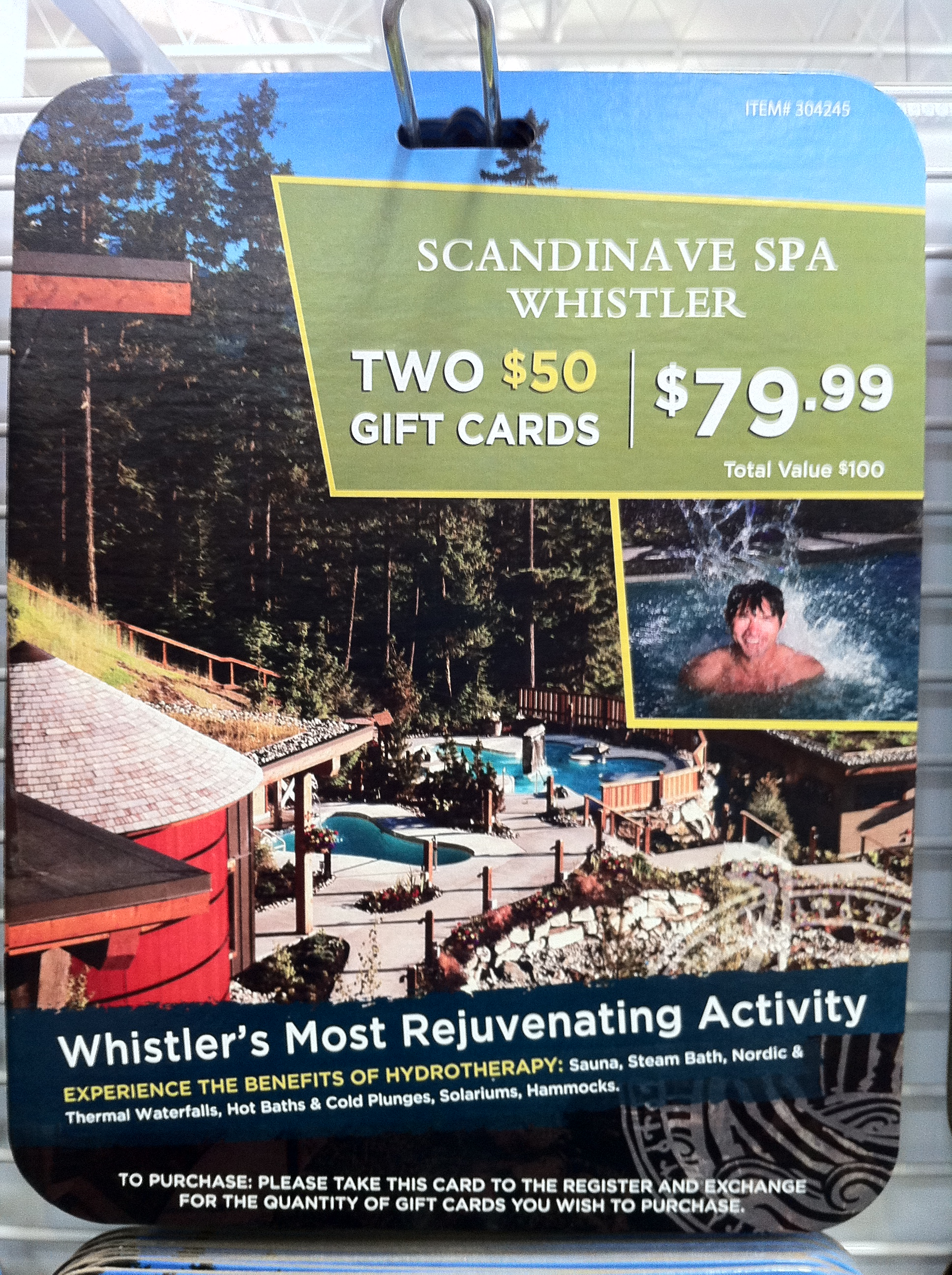 Tinkerblue Wishlist Scandinave Spa Gift Card From Costco