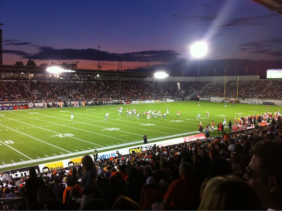 BC Lions Home Game Win