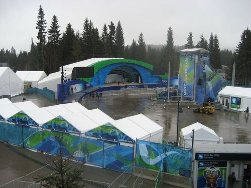 Whistler Medals Plaza Games Time