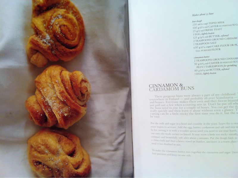 Cinnamon and Cardamon Buns