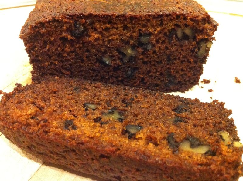 Black Banana Bread