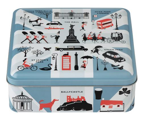 Jubilee biscuit tin from M&S