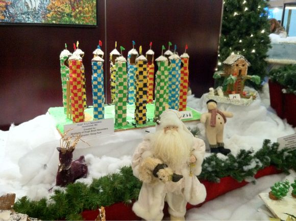 Advent Calendar Day #16 - Gingerbread Lane at Hyatt Regency Vancouver