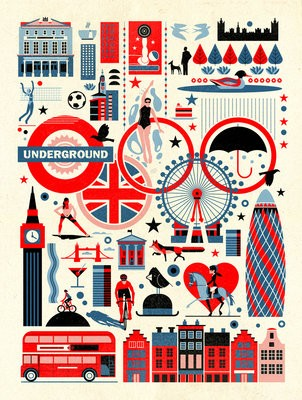 Dieter Braun London Print