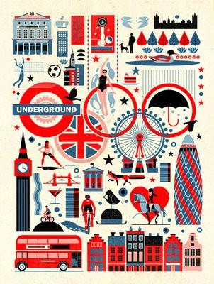 Dieter Braun London Print