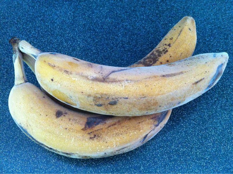 Frozen Bananas = Soft Serve