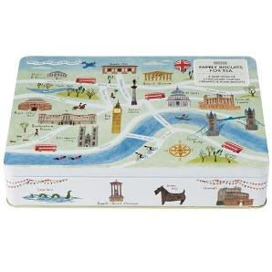 London Landmarks Biscuit Tin 2 M&S