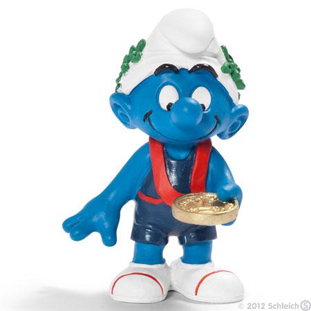 Smurf Medal Winner