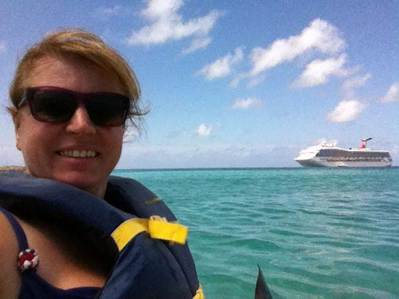 Kayaking in the Caribbean - Half Moon Cay