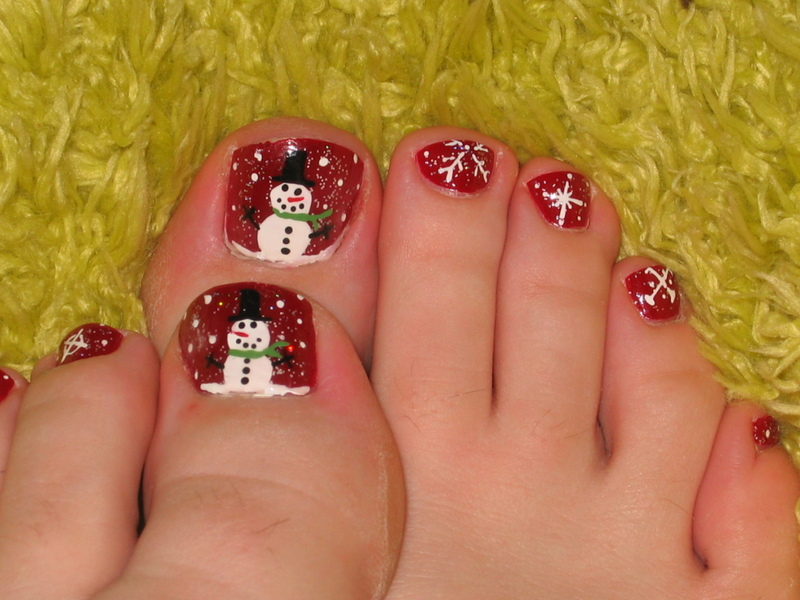 Snowman_toes